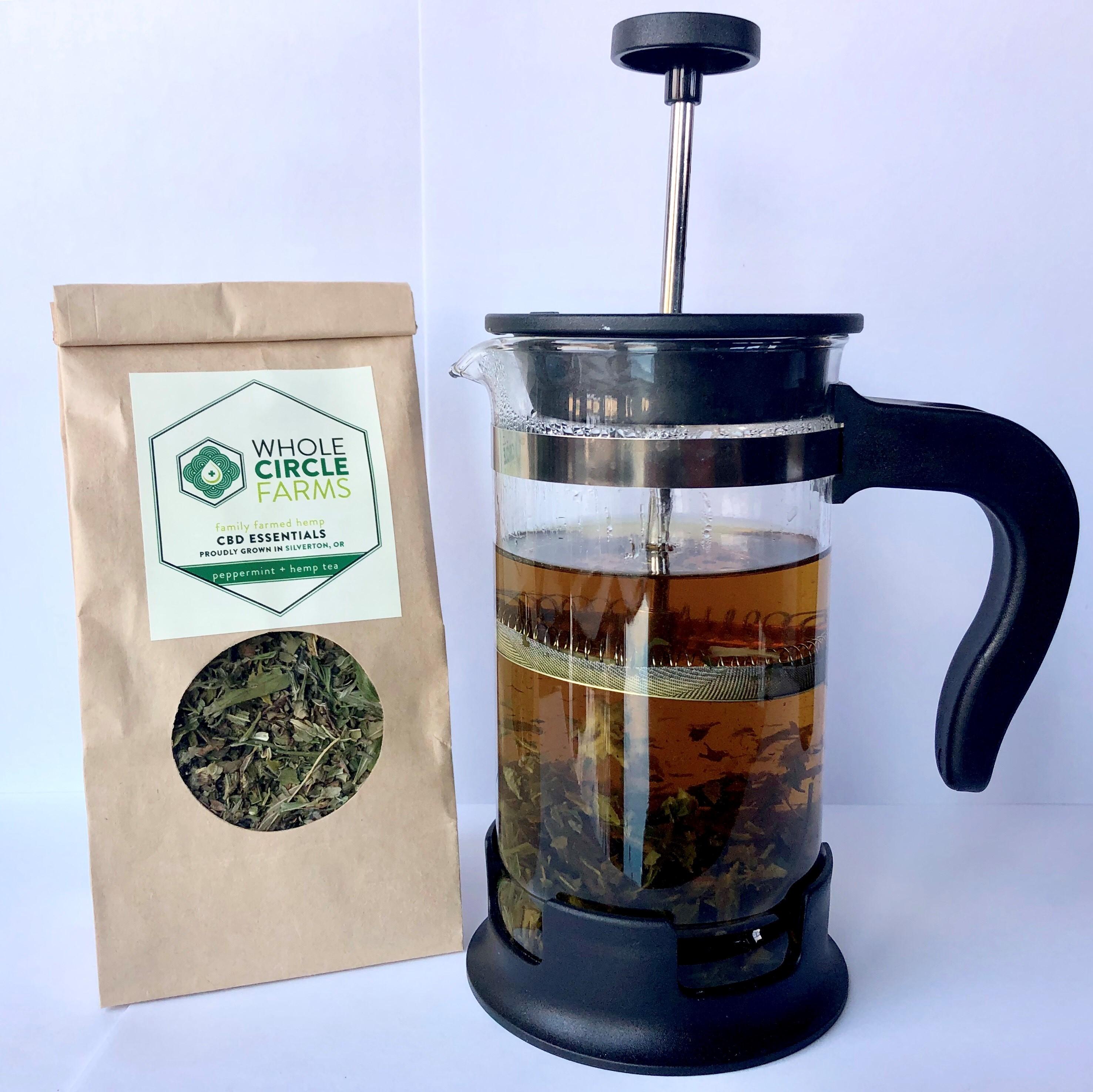 Peppermint + Hemp Tea