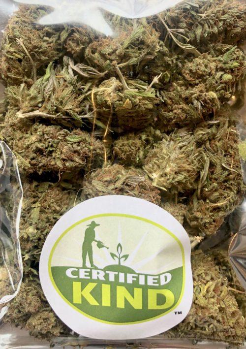 Certified Organic Raw Hemp Flower - Lifter